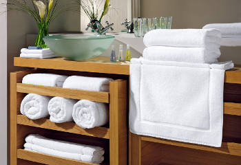 Towels white